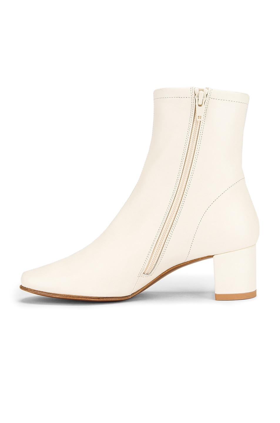 Image 5 of BY FAR Sofia Leather Boot in White