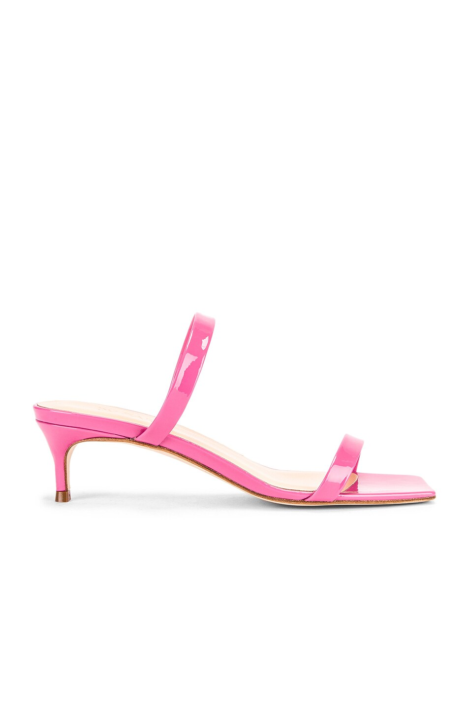 Image 1 of BY FAR Thalia Patent Sandal in Pink