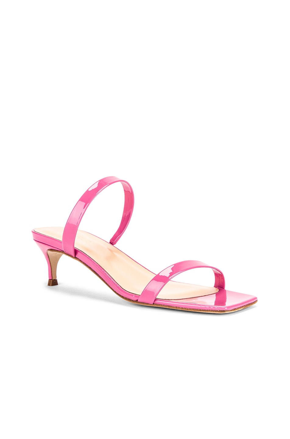 Image 2 of BY FAR Thalia Patent Sandal in Pink