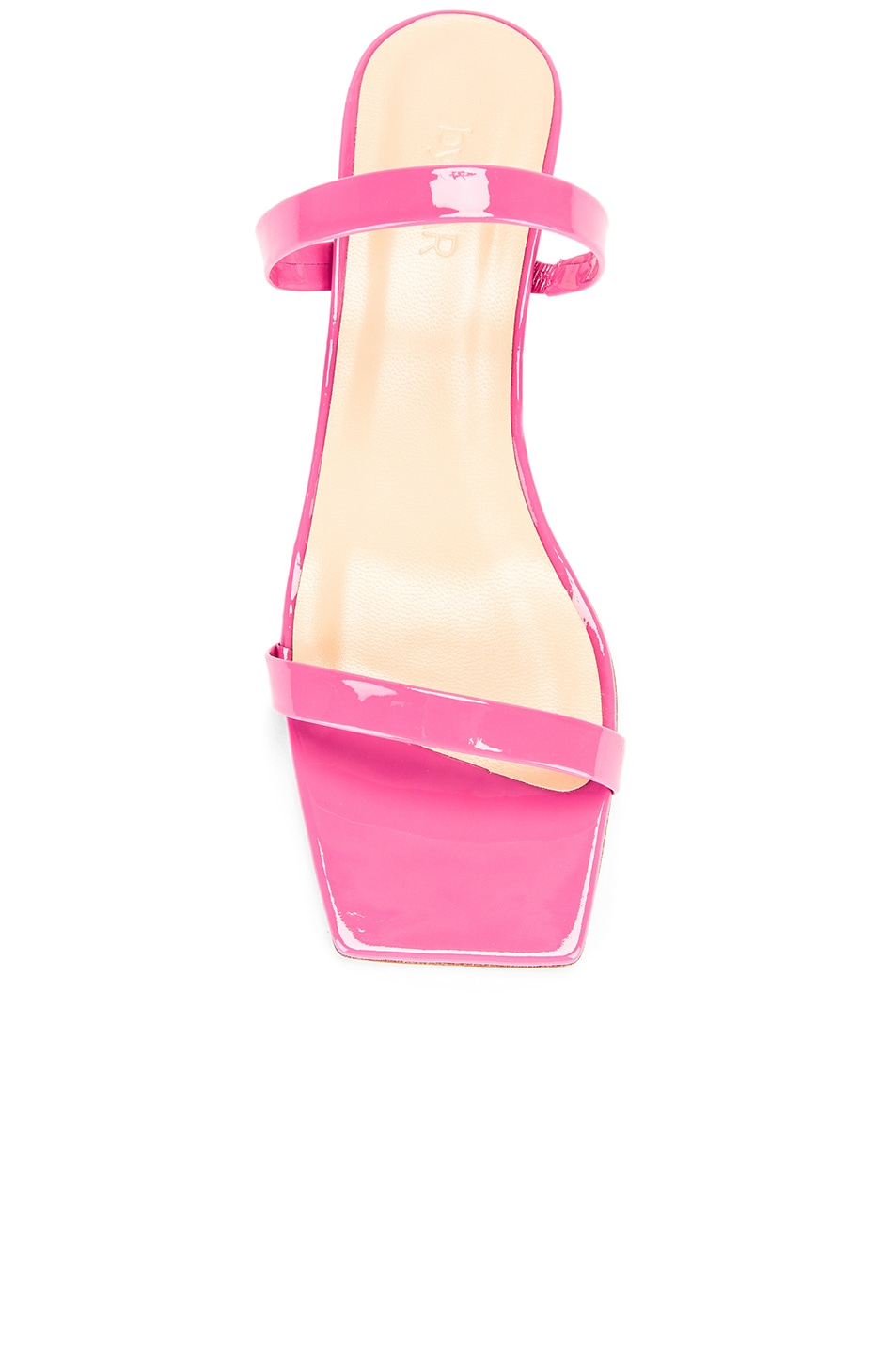 Image 4 of BY FAR Thalia Patent Sandal in Pink