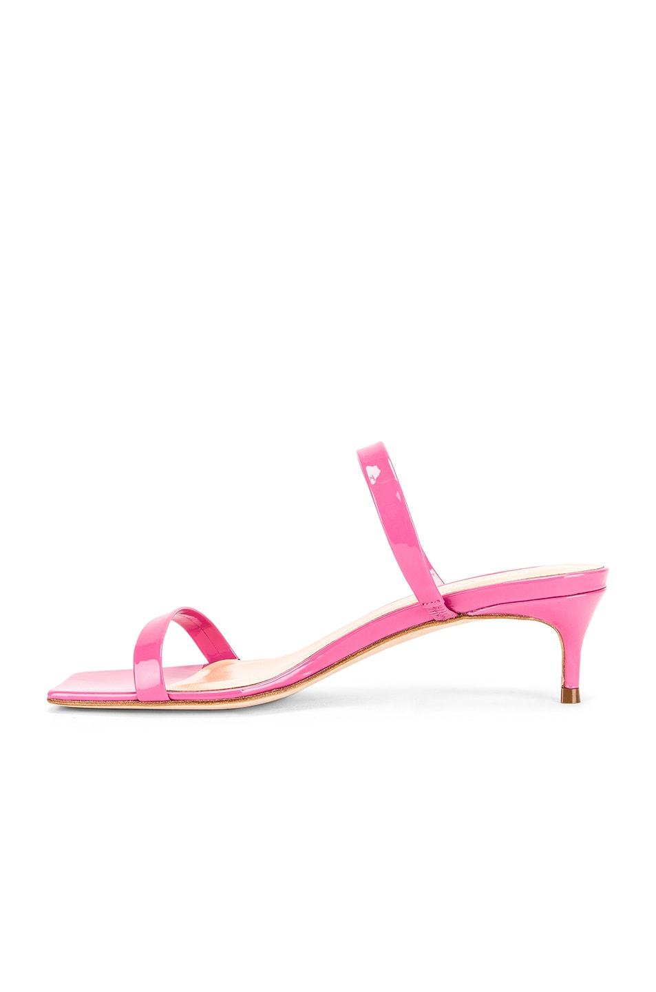 Image 5 of BY FAR Thalia Patent Sandal in Pink