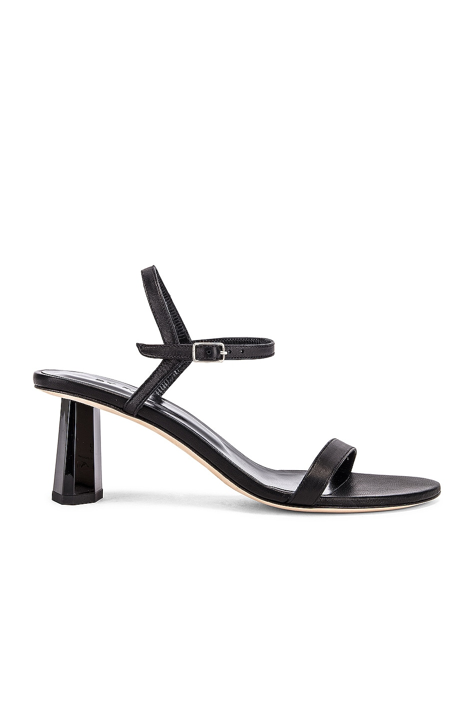 Image 1 of BY FAR Magnolia Leather Sandal in Black