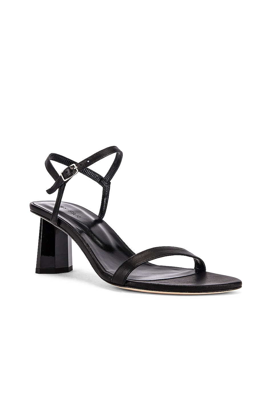 Image 2 of BY FAR Magnolia Leather Sandal in Black