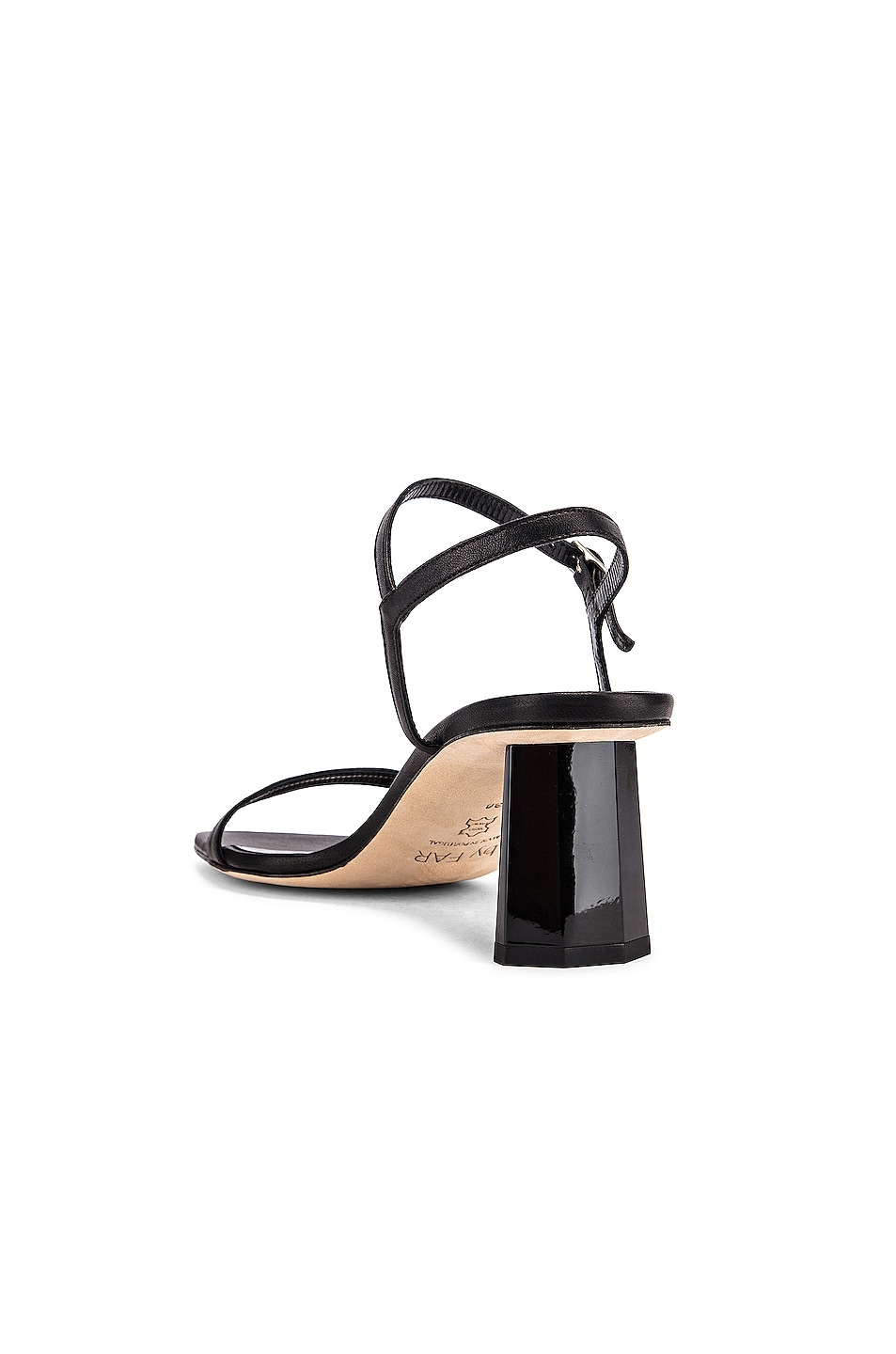 Image 3 of BY FAR Magnolia Leather Sandal in Black
