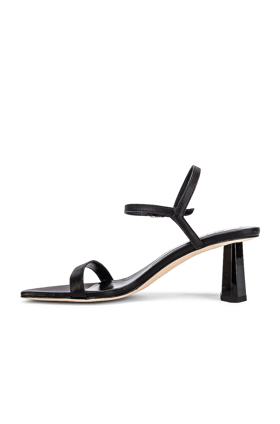 Image 5 of BY FAR Magnolia Leather Sandal in Black