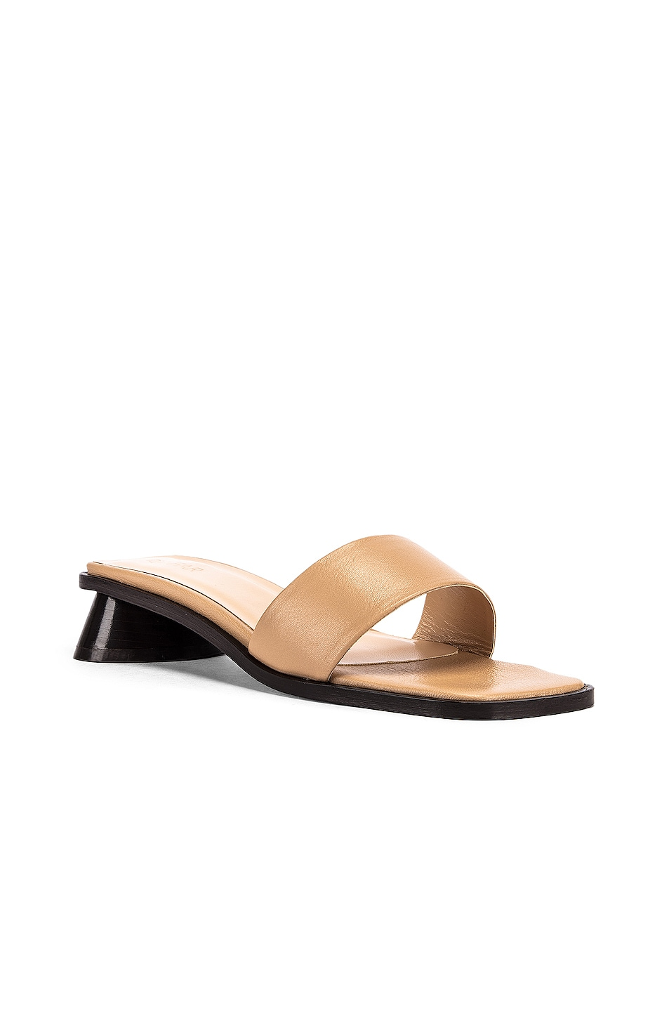 Image 2 of BY FAR Sonia Sandal in Nude