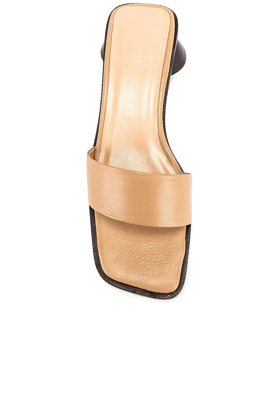 Image 4 of BY FAR Sonia Sandal in Nude