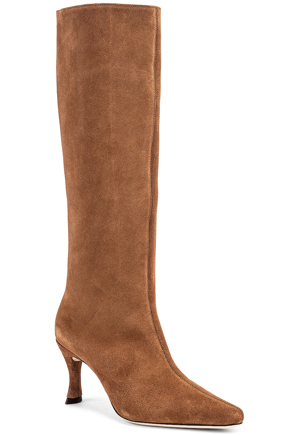 Image 2 of BY FAR Stevie 42 Leather Boot in Brown