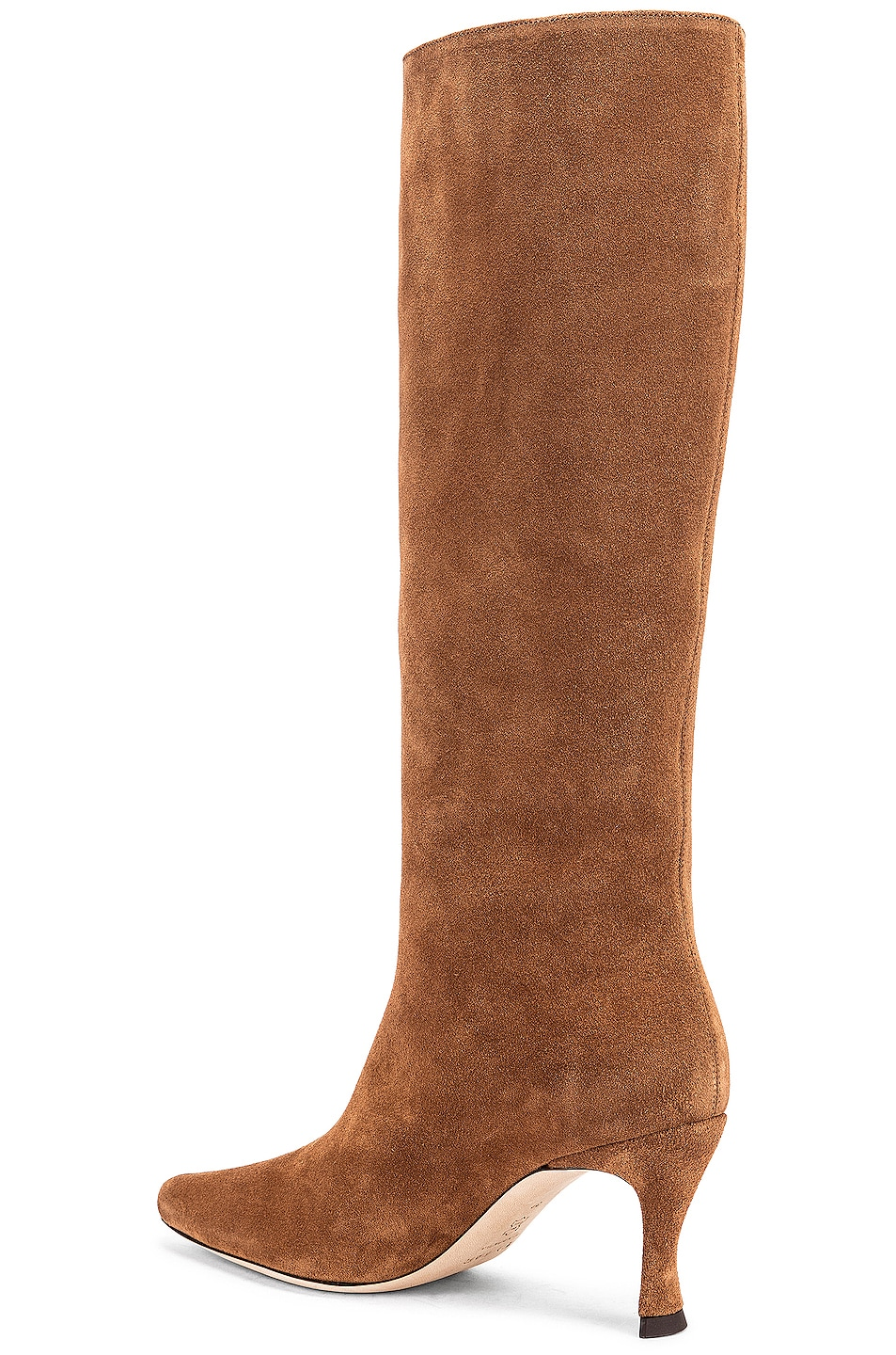 Image 3 of BY FAR Stevie 42 Leather Boot in Brown