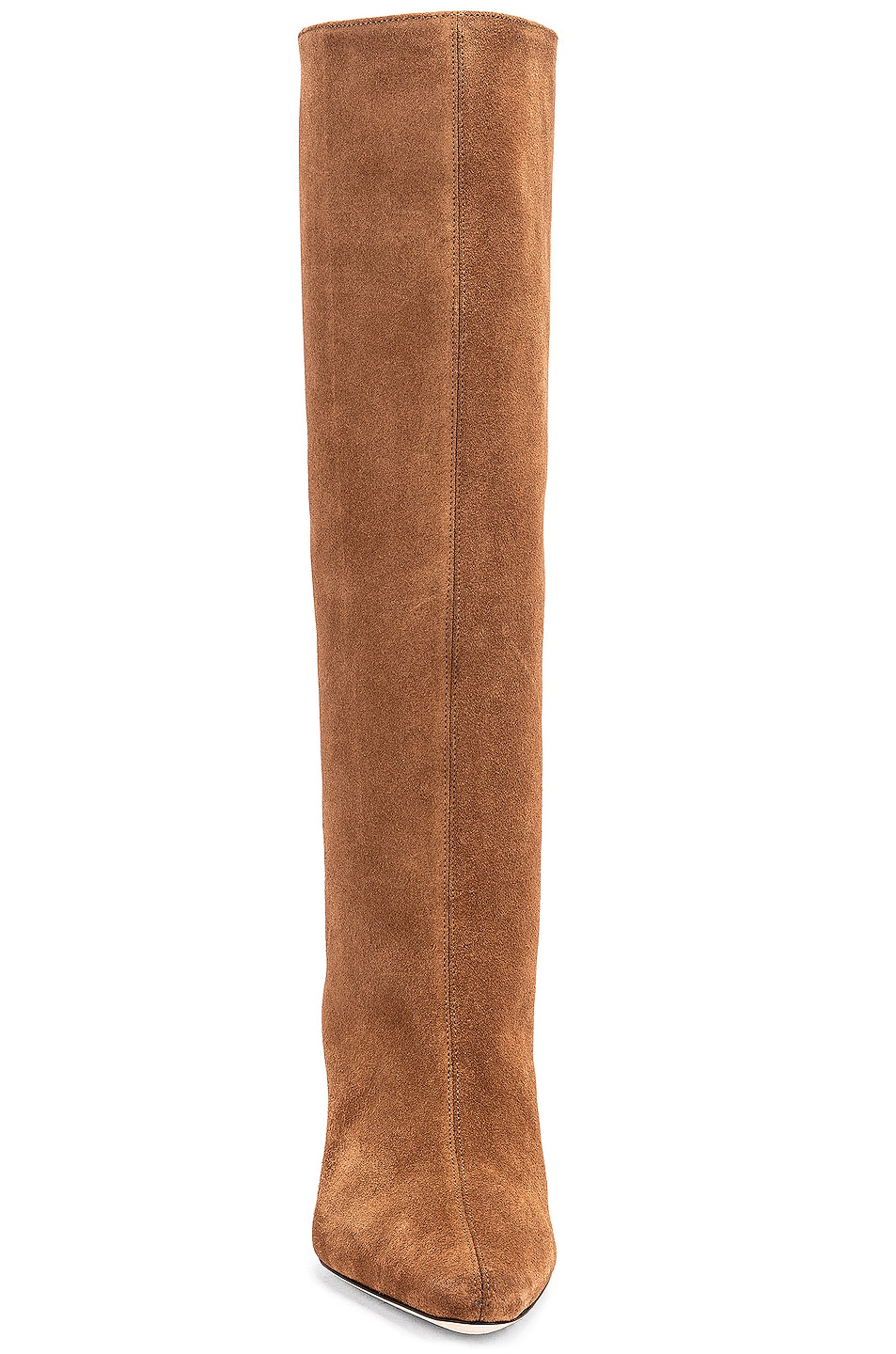 Image 4 of BY FAR Stevie 42 Leather Boot in Brown