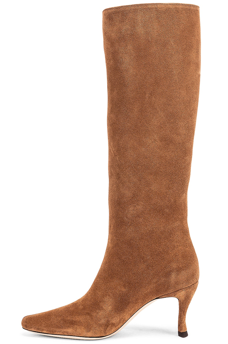 Image 5 of BY FAR Stevie 42 Leather Boot in Brown