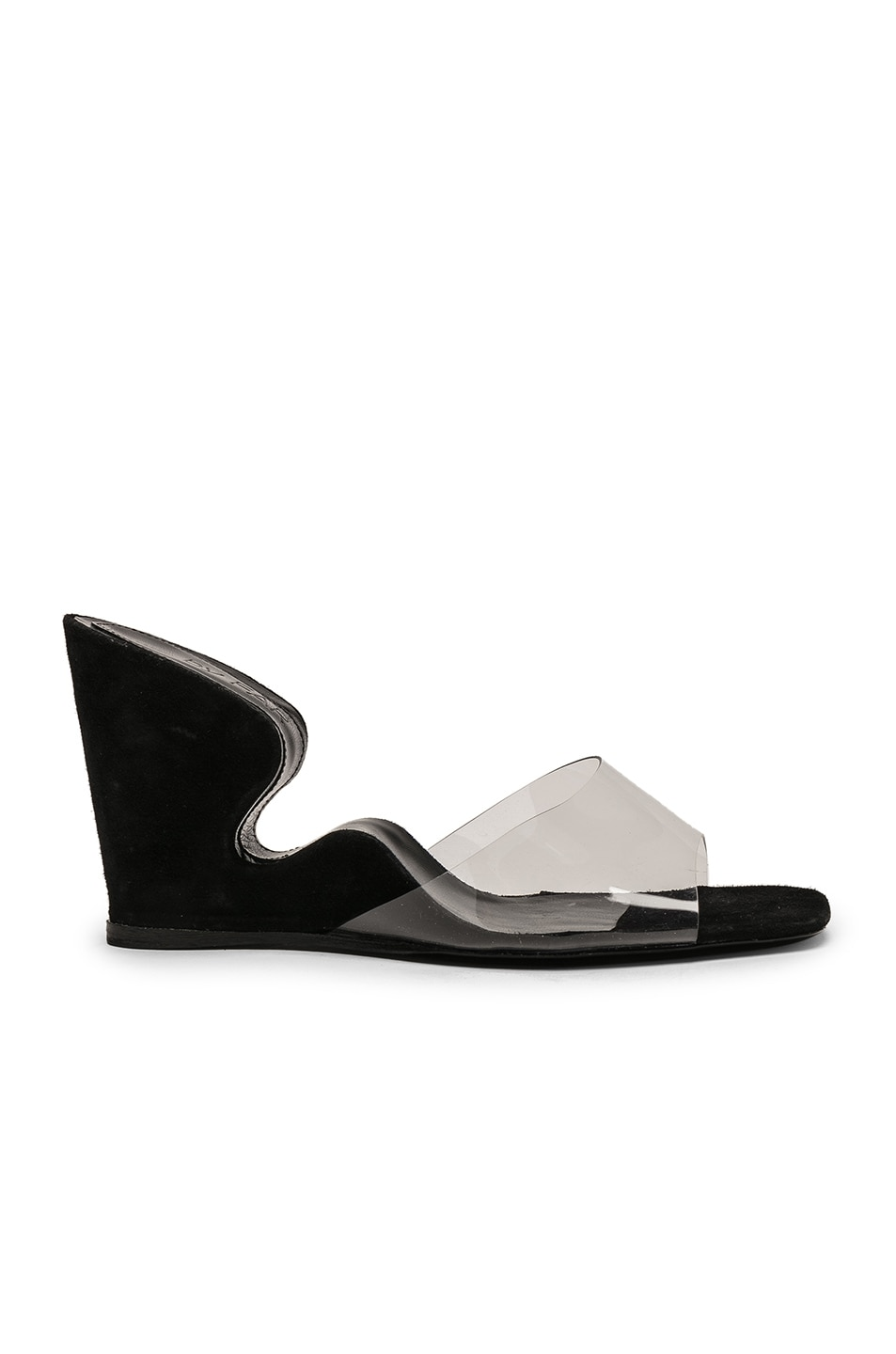 Image 1 of By Far Greta Mule in Black Suede