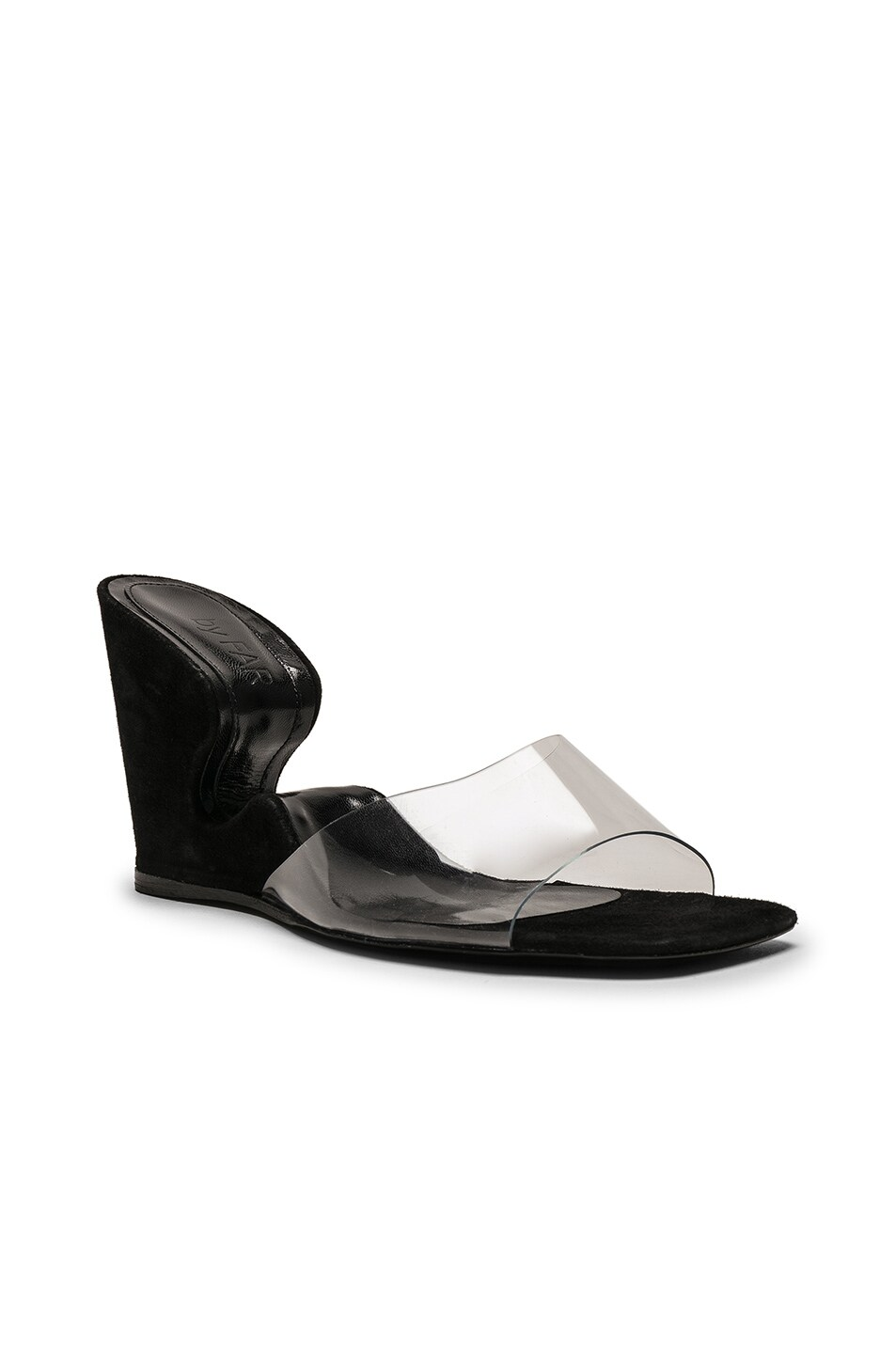 Image 2 of By Far Greta Mule in Black Suede