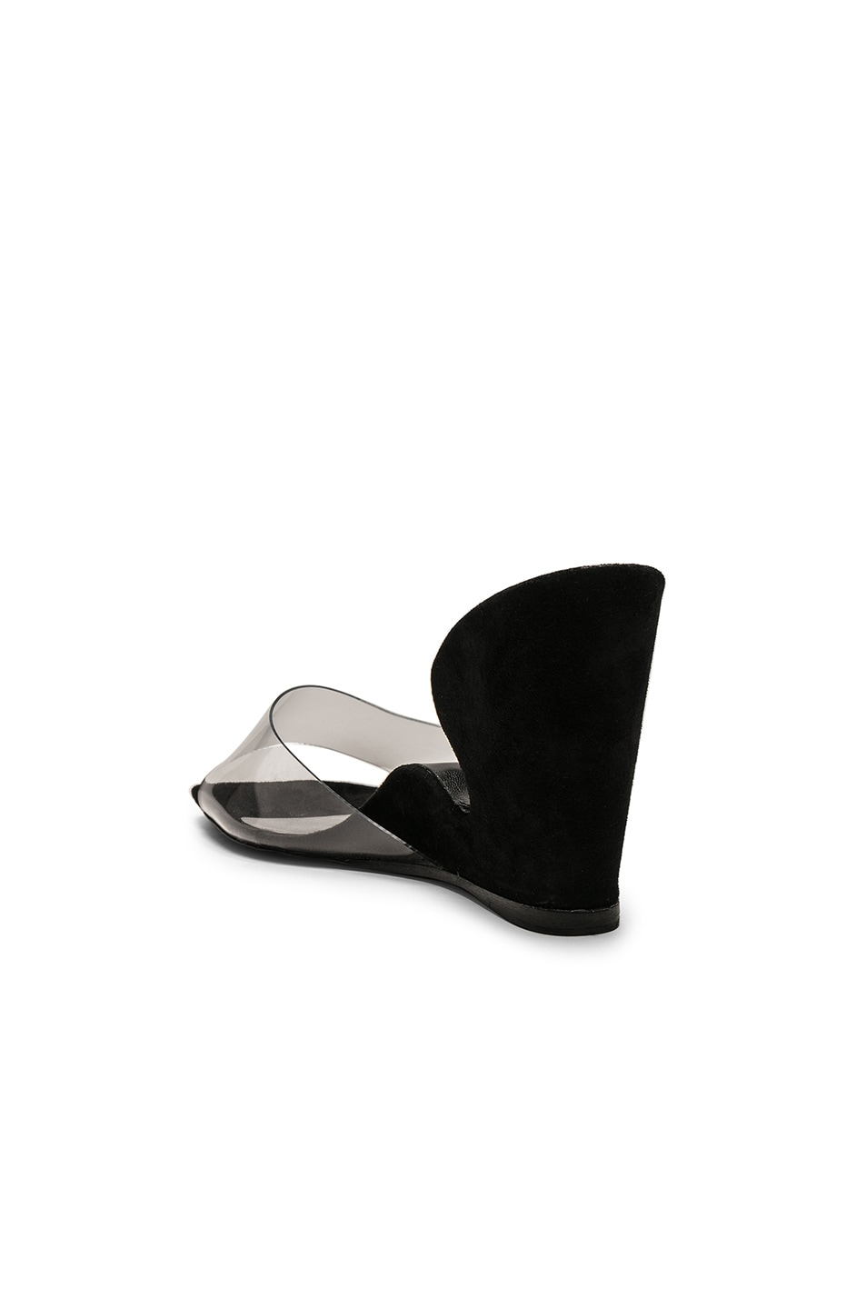Image 3 of By Far Greta Mule in Black Suede