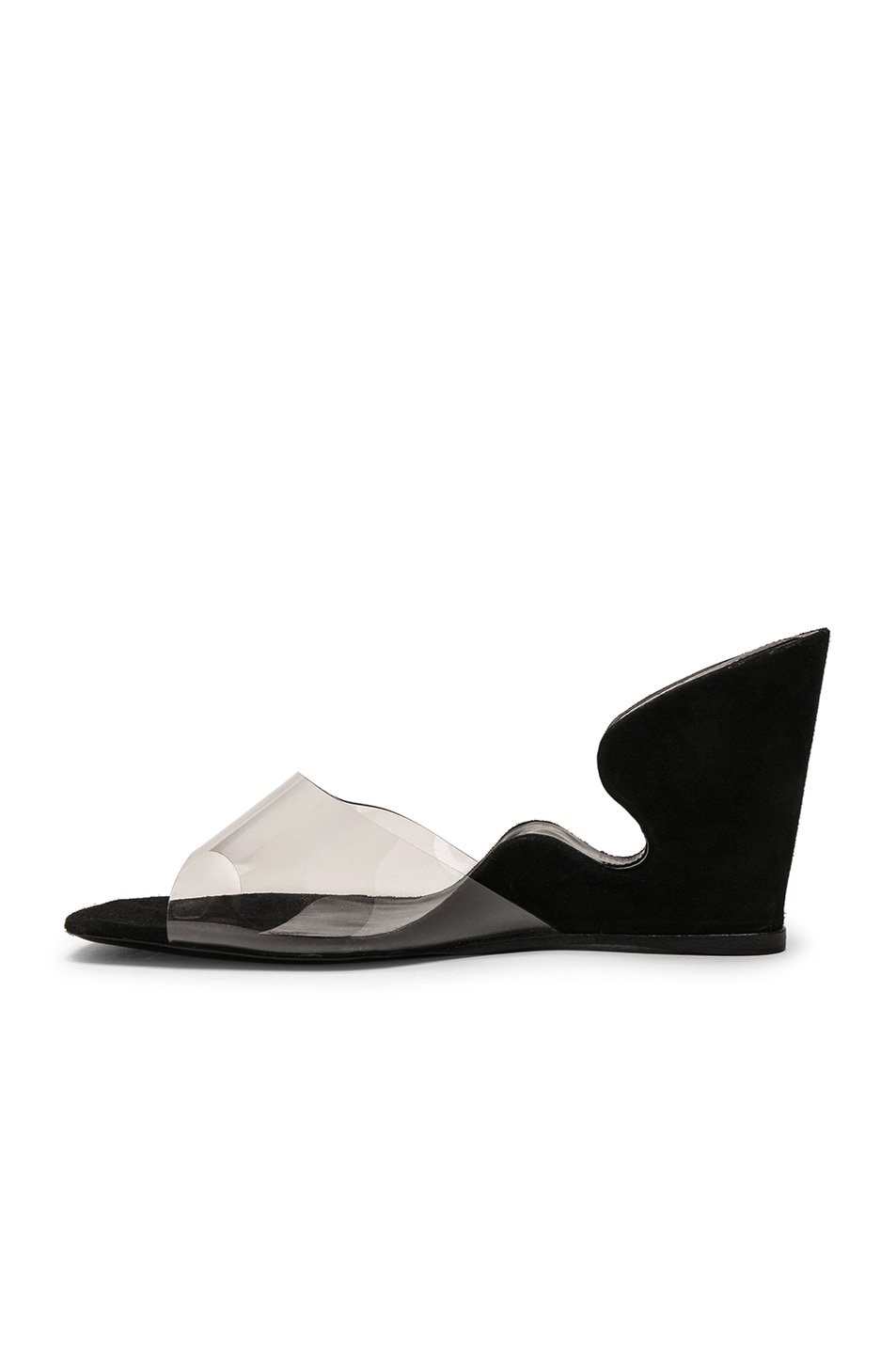 Image 5 of By Far Greta Mule in Black Suede