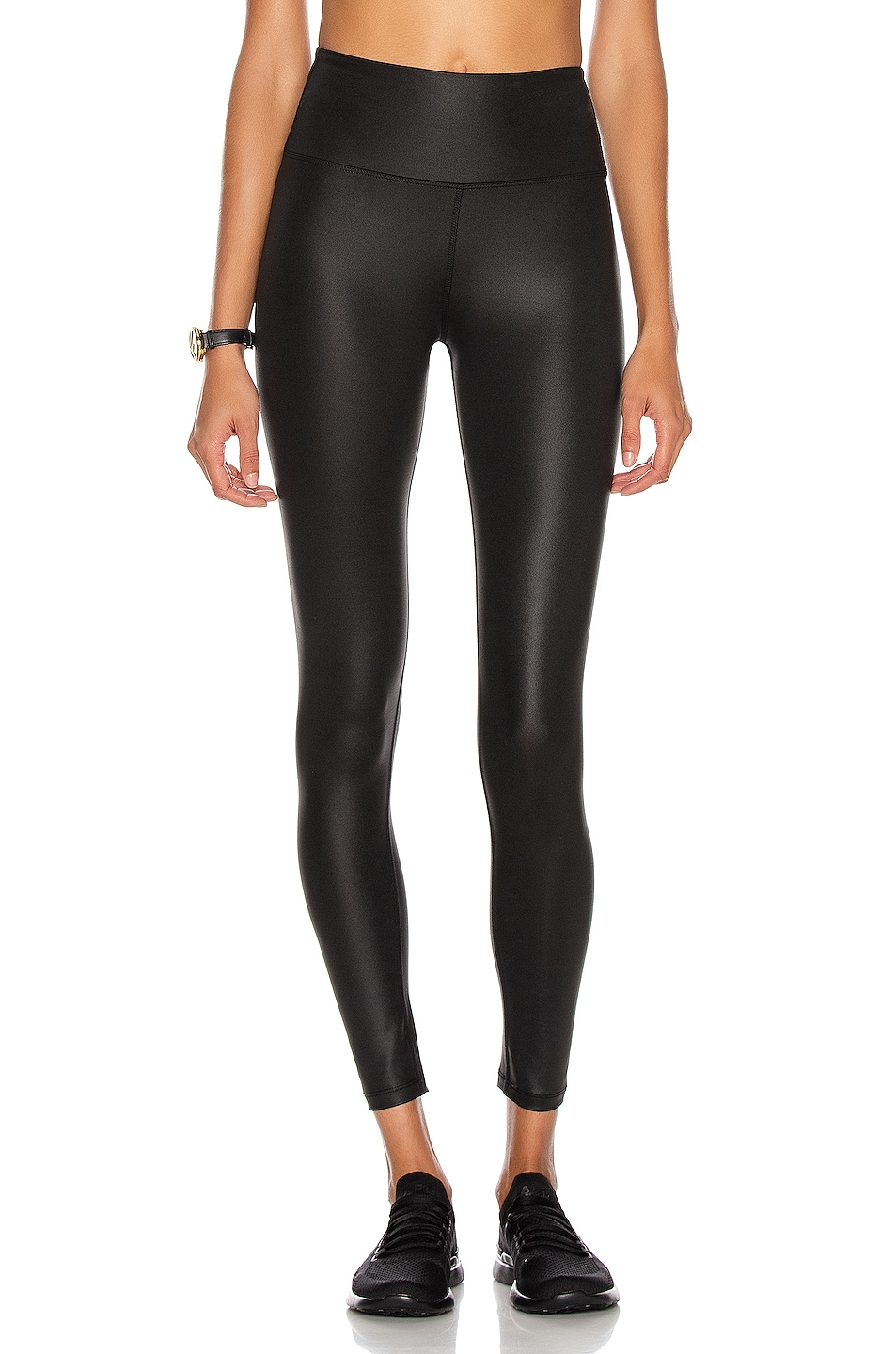 Image 1 of YEAR OF OURS Shine Sport Legging in Black