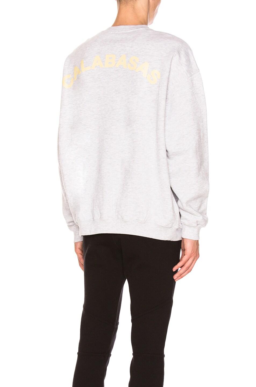 bb158be16 Image 1 of YEEZY Season 5 Crewneck Sweatshirt in Heather