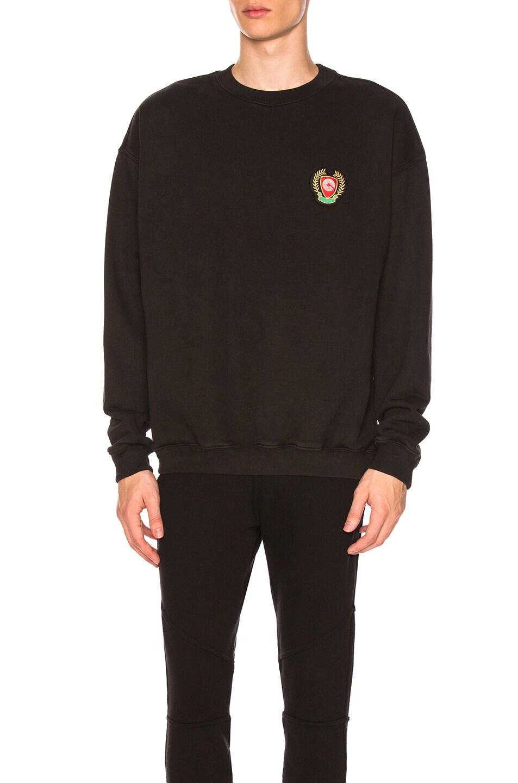 b954de5e4 Image 1 of YEEZY Season 5 Crewneck Sweatshirt in Ink