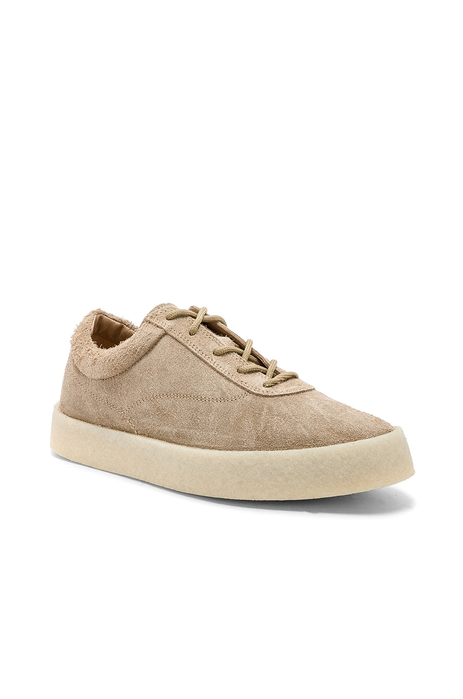 0547f923c4603 Image 1 of YEEZY Season 6 Crepe Sneaker in Taupe