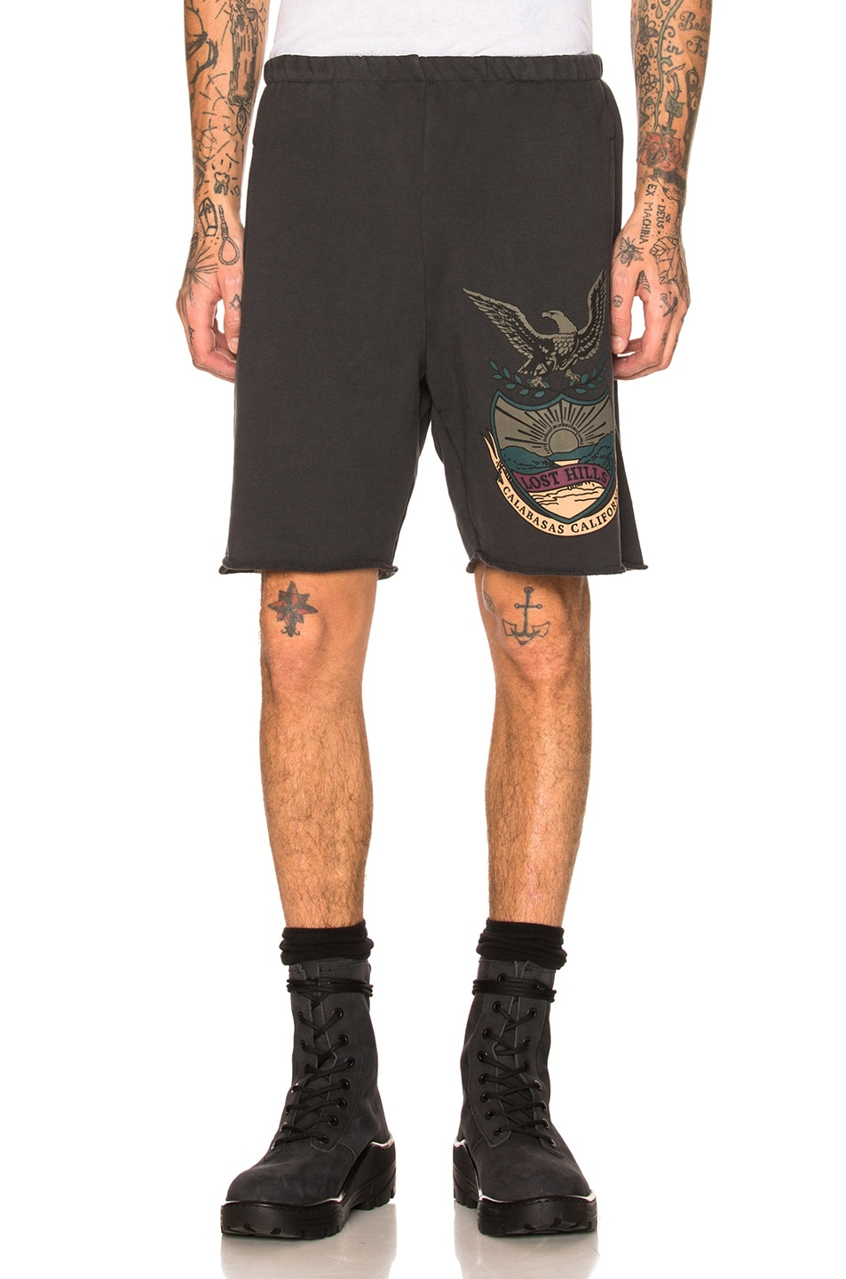 Image 1 of YEEZY Calabasas French Terry Shorts in Akon