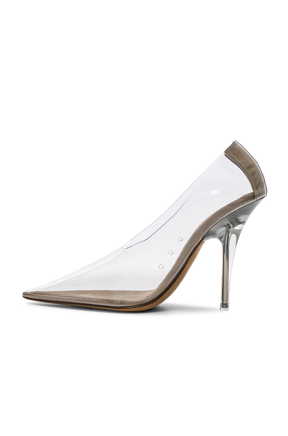 941a2dc6e Image 5 of YEEZY Season 5 PVC Pumps in Clear