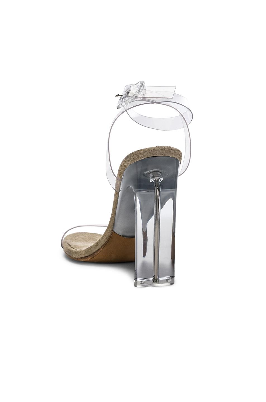 ff46ea6509c Image 3 of YEEZY Season 6 Ankle Strap PVC Heels in Clear