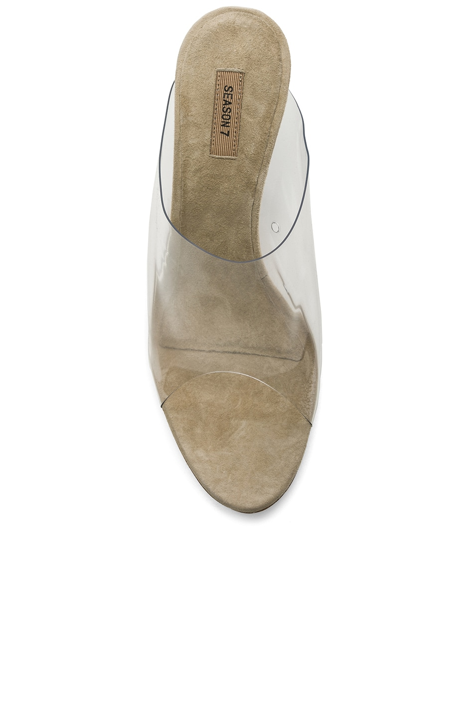 21e0b99cacbb7 Image 4 of YEEZY Season 7 PVC Mules in Clear