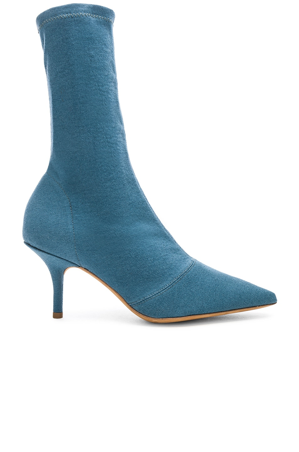 Image 1 of YEEZY Season 7 Stretch Ankle Bootie in Aqua