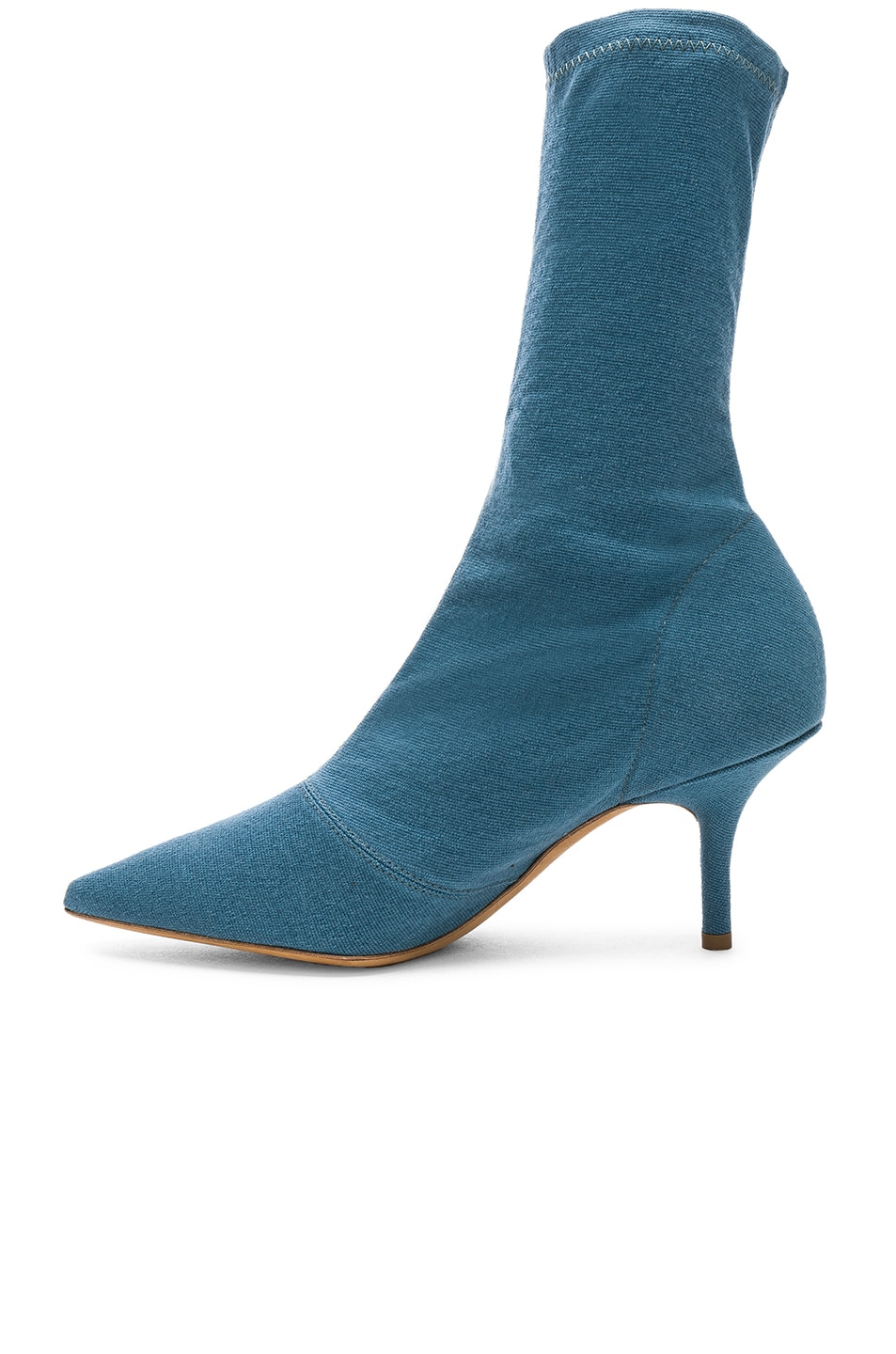 Image 5 of YEEZY Season 7 Stretch Ankle Bootie in Aqua