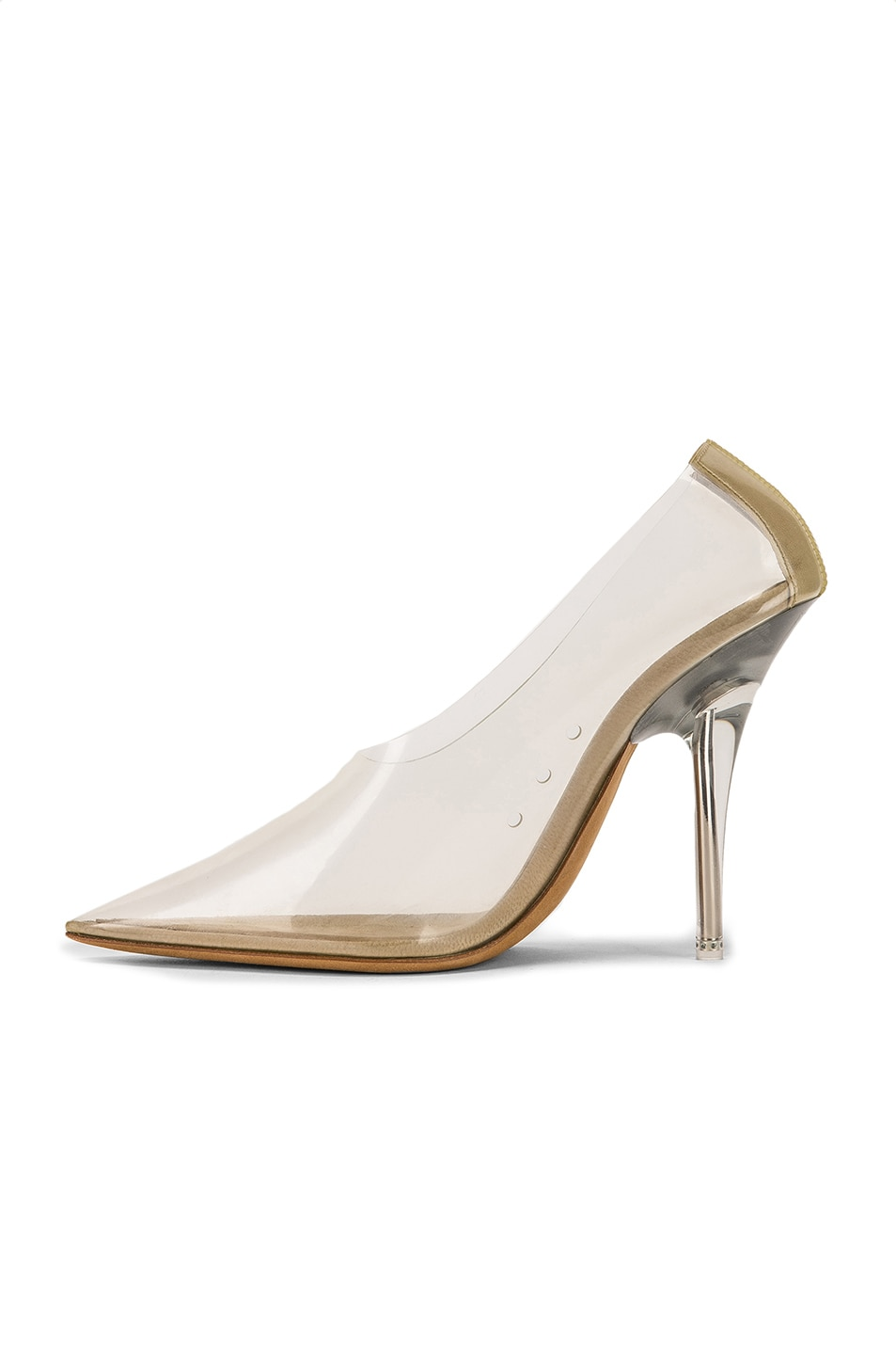 Image 5 of YEEZY Season 8 PVC Pump in Clear