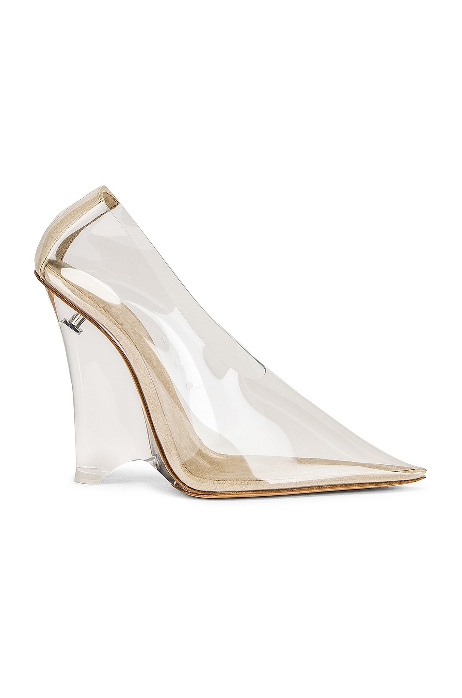 free shipping YEEZY Season 8 Wedge Pump Clear