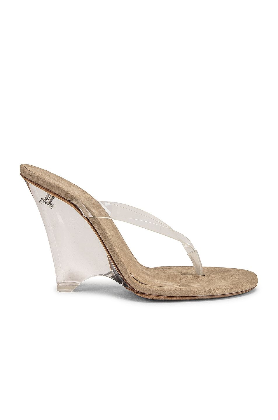 Image 1 of YEEZY Season 8 Wedge Thong Sandal in Clear
