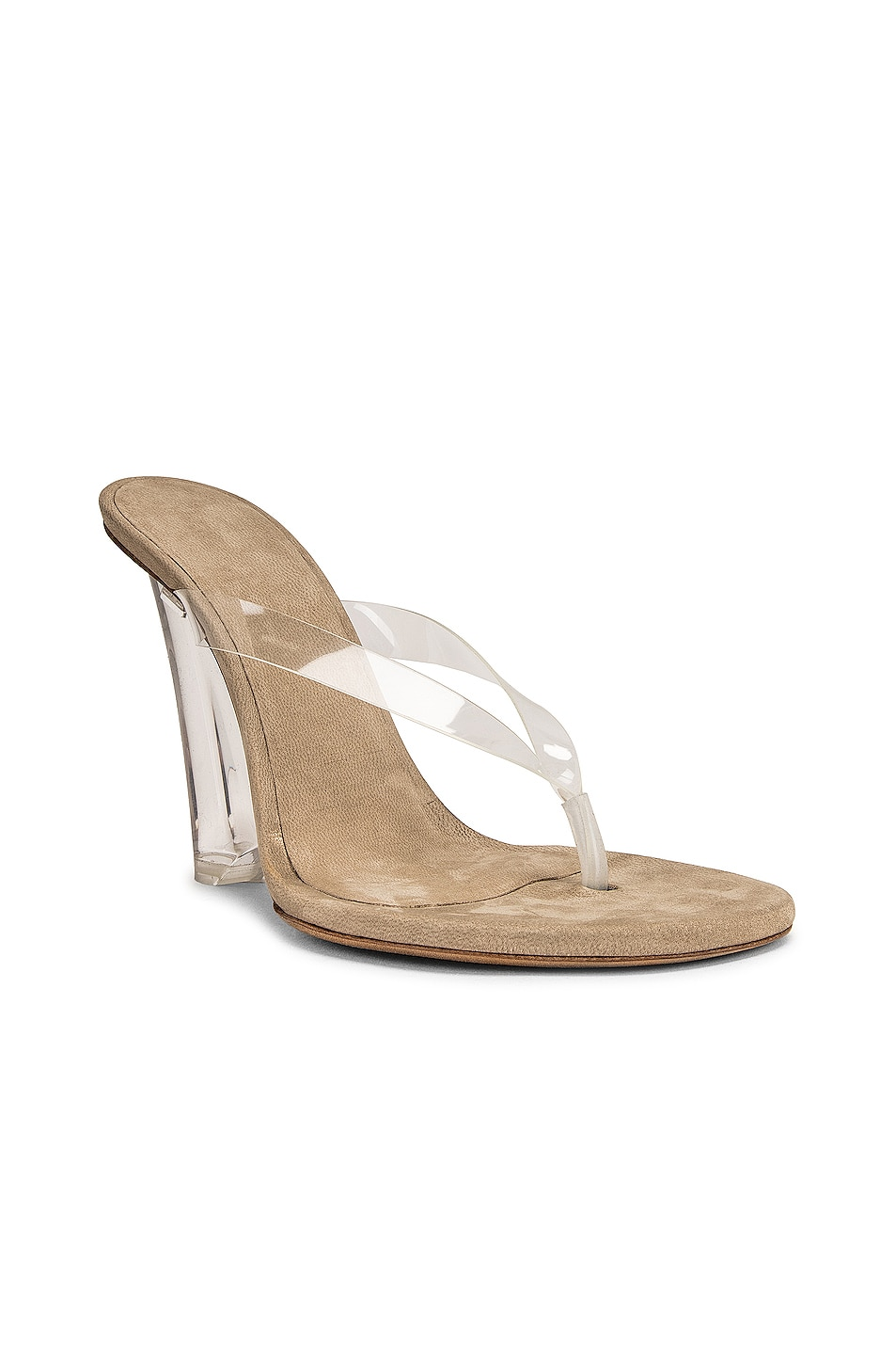 Image 2 of YEEZY Season 8 Wedge Thong Sandal in Clear