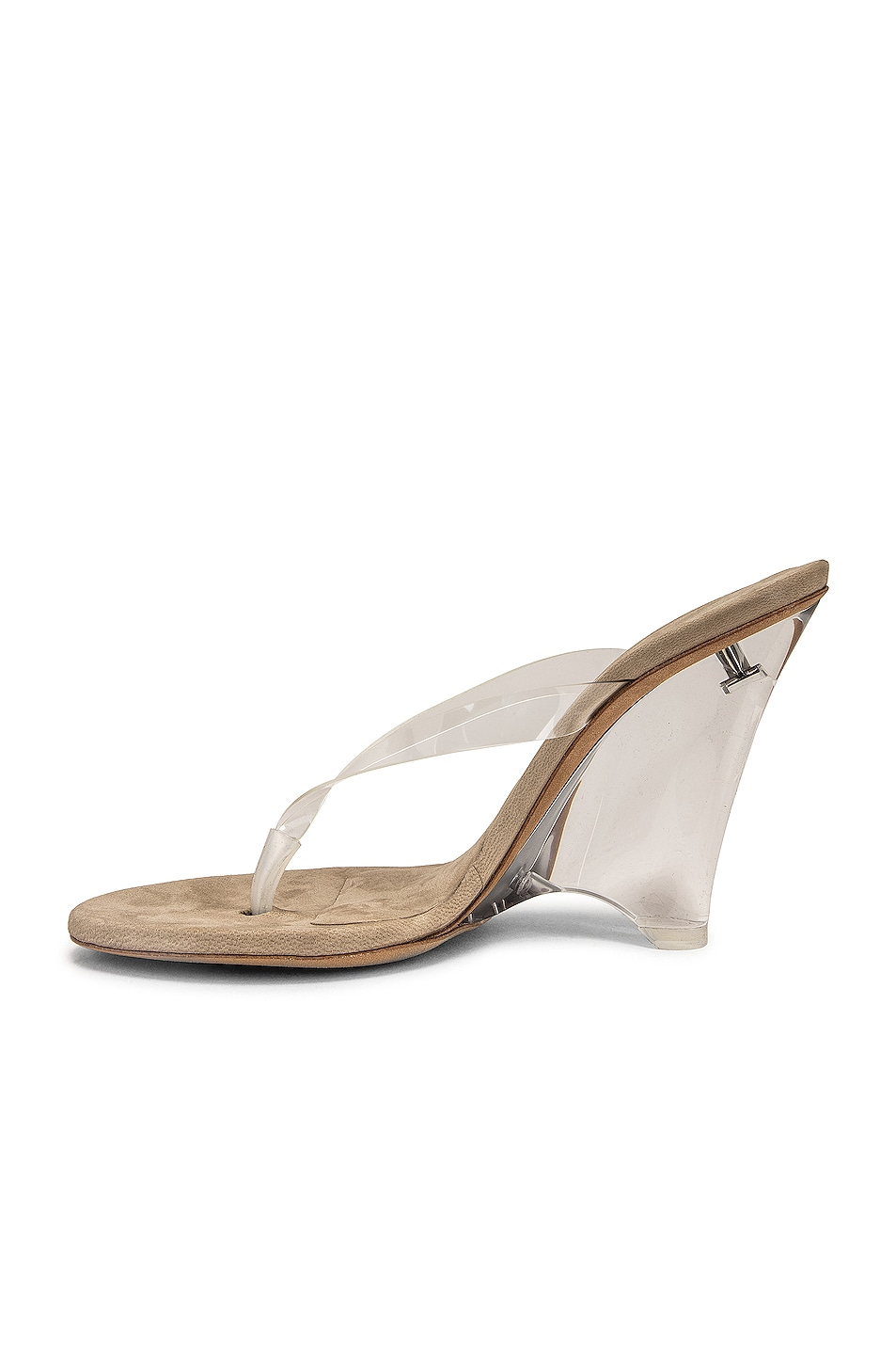 Image 5 of YEEZY Season 8 Wedge Thong Sandal in Clear