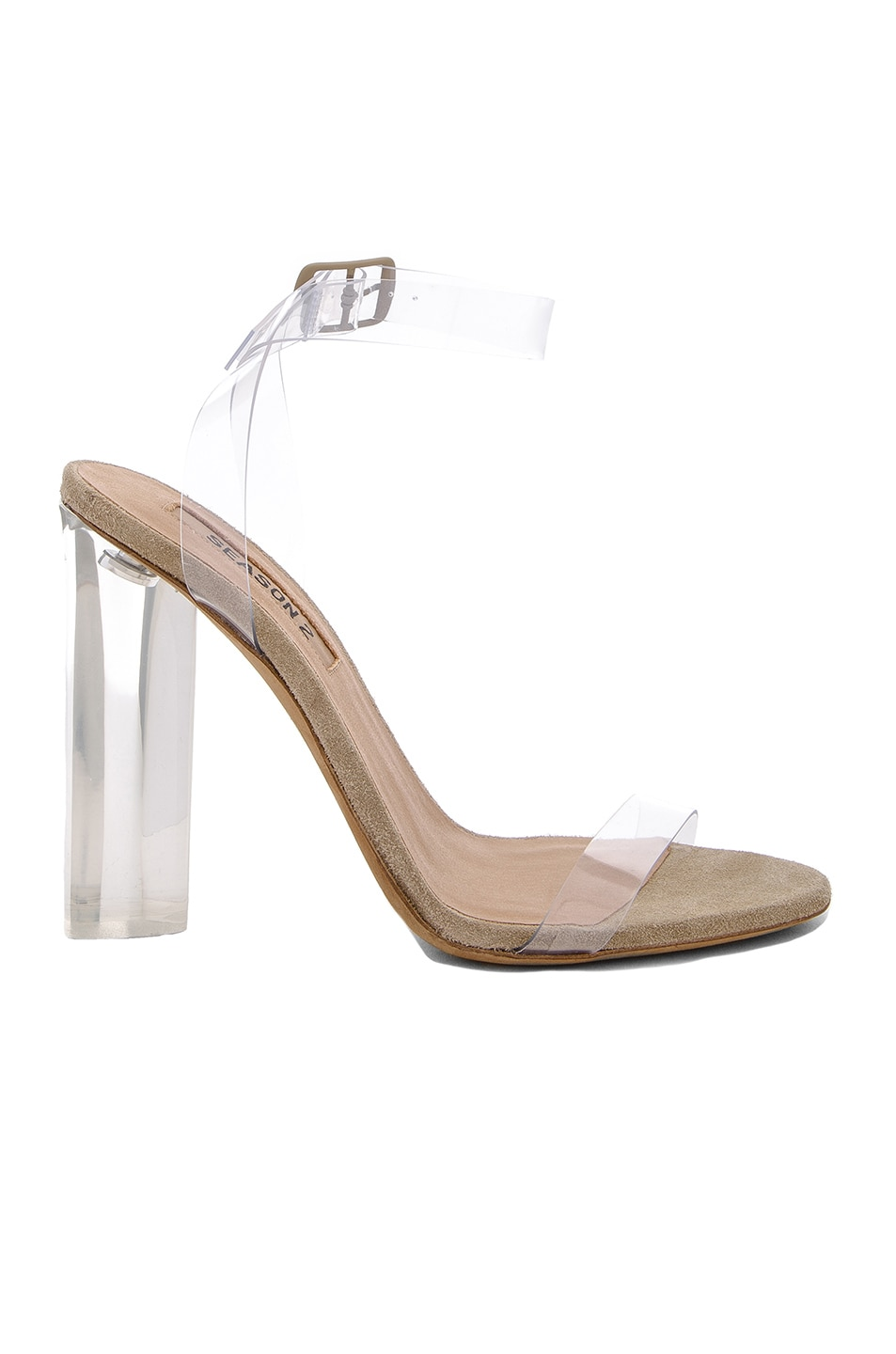 Image 1 of YEEZY Season 2 Heels in Lucite