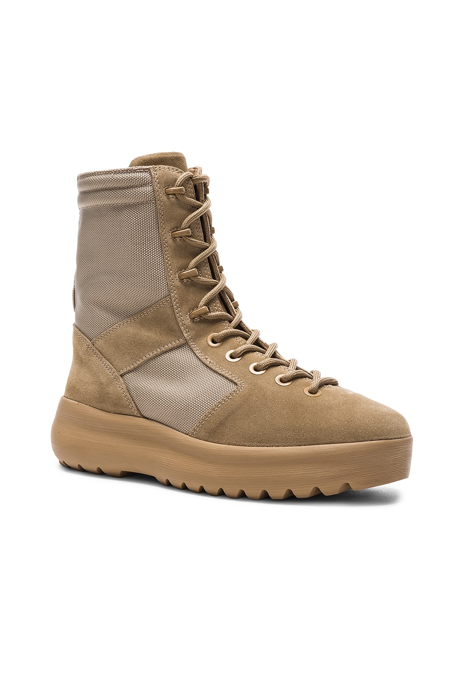 26af3f42f9469 Image 1 of YEEZY Season 3 Military Boots in Rock