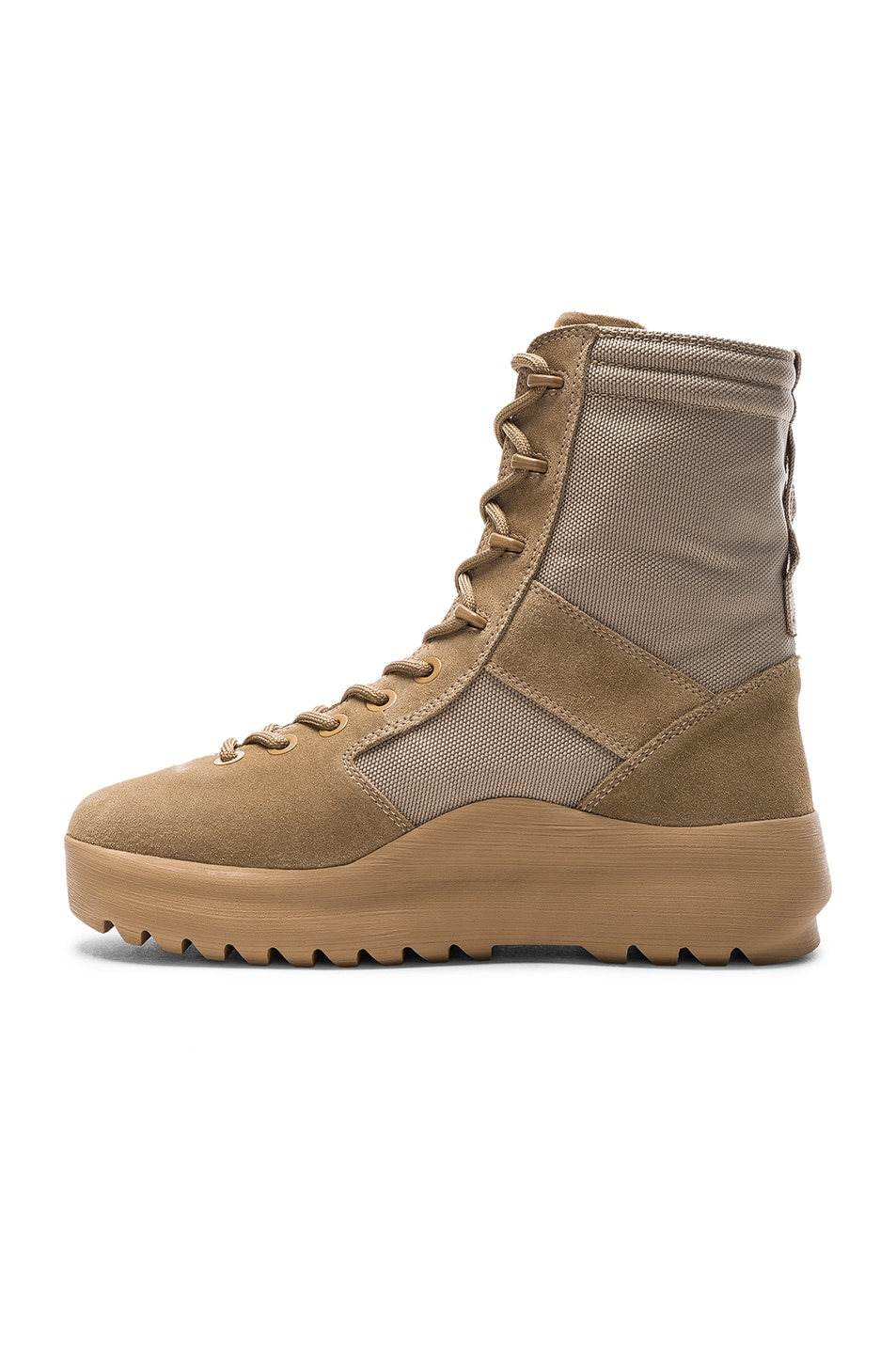 18cf653bdcc Image 5 of YEEZY Season 3 Military Boots in Rock