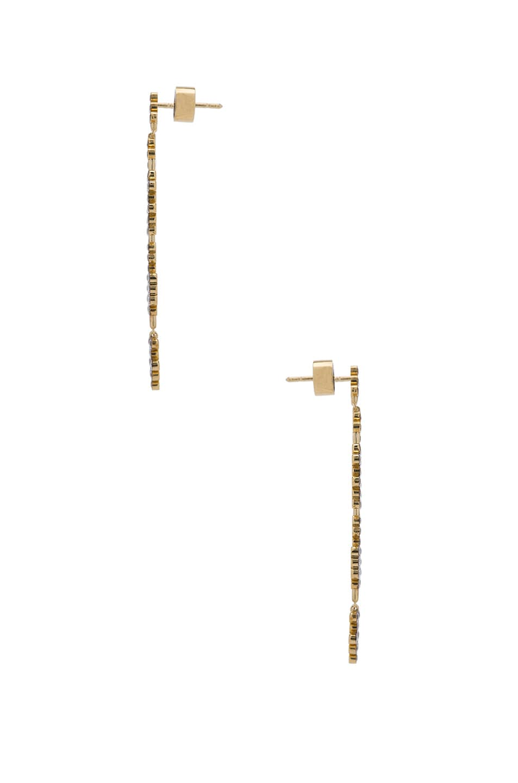 Image 2 of Yannis Sergakis Earrings in Yellow & Black Gold