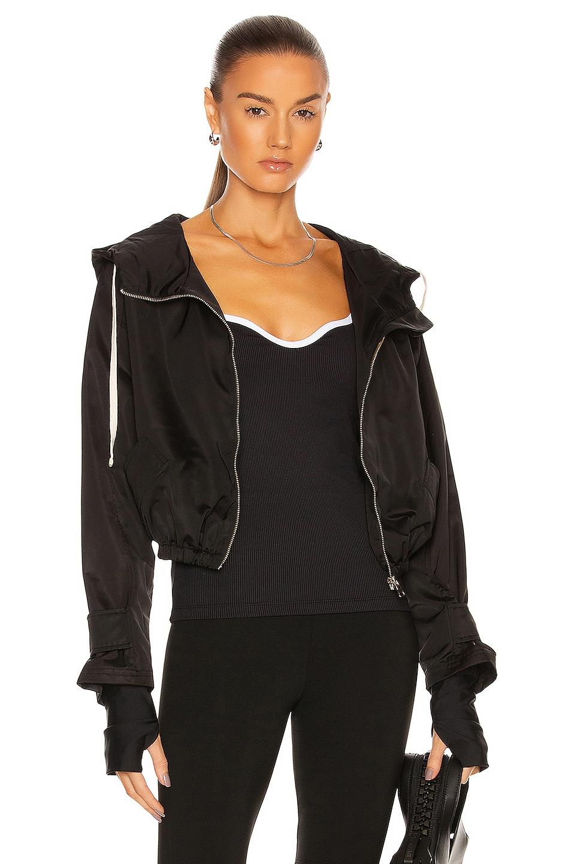 Image 1 of Nylora Ward Hoodie Jacket in Black