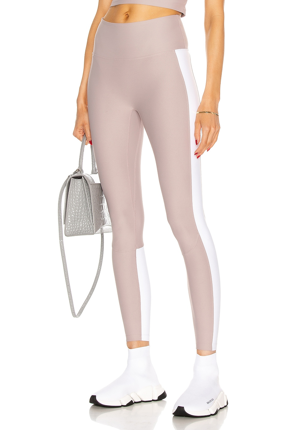 Image 1 of Nylora Levee Legging in Mauve & White Combo