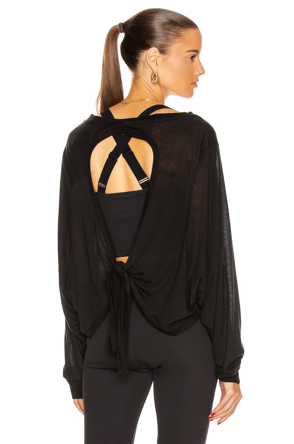 Image 1 of Nylora Valerio Top in Black