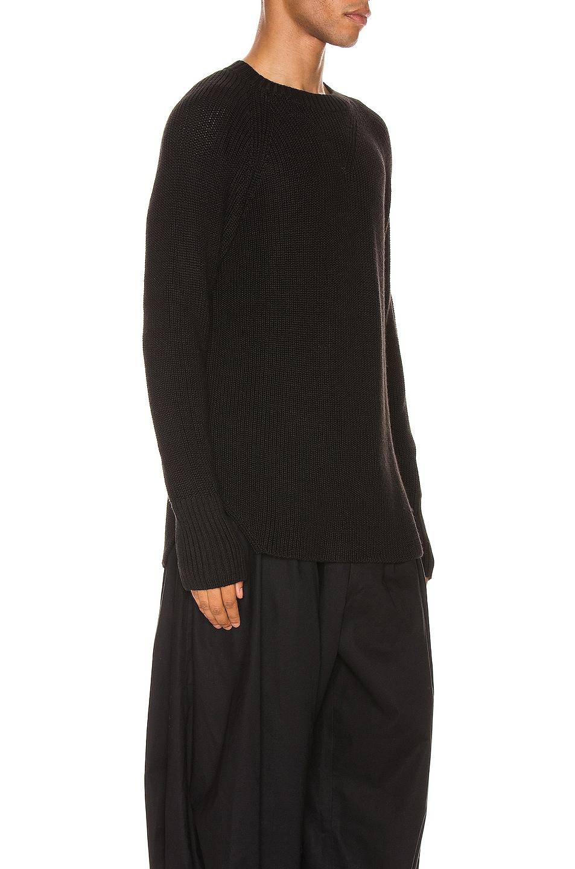 Image 2 of Yohji Yamamoto Full Cardigan Pullover in Black