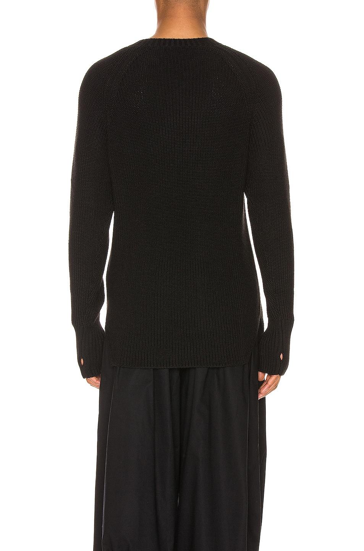 Image 3 of Yohji Yamamoto Full Cardigan Pullover in Black