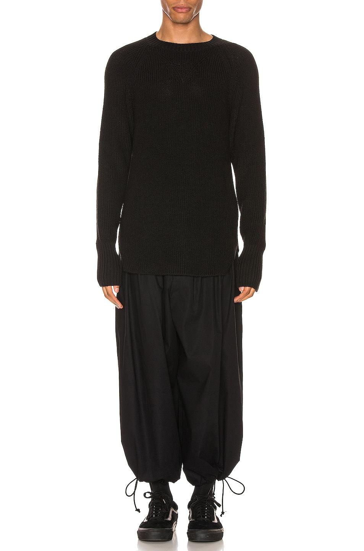Image 4 of Yohji Yamamoto Full Cardigan Pullover in Black