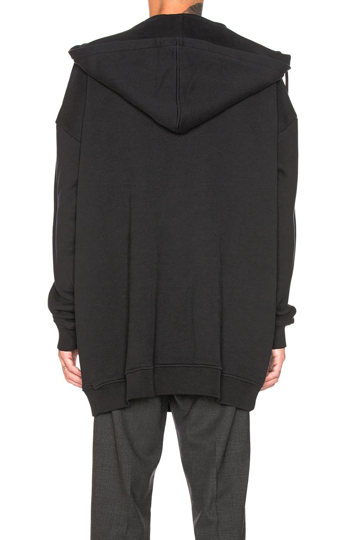 Image 3 of Y/Project Paneled Hoodie in Black