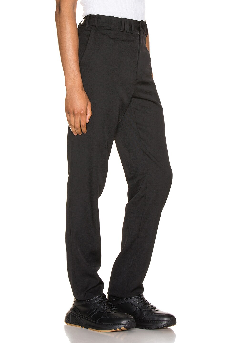 Image 2 of Y/Project Y/Tag Trousers in Black