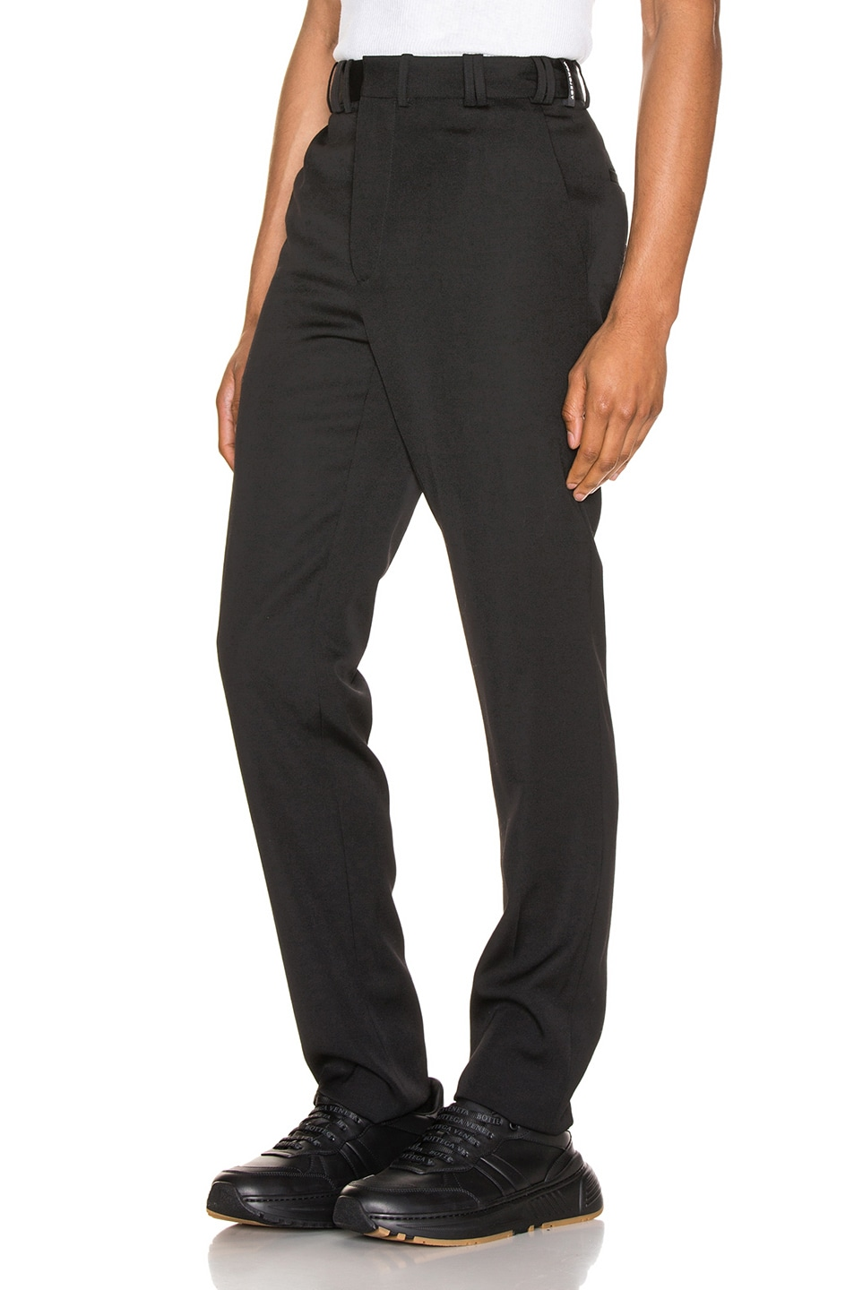 Image 3 of Y/Project Y/Tag Trousers in Black