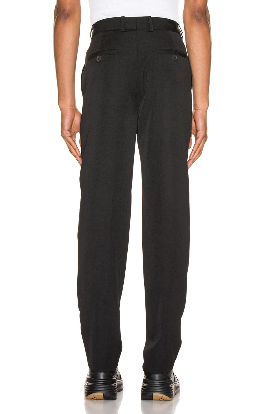 Image 4 of Y/Project Y/Tag Trousers in Black