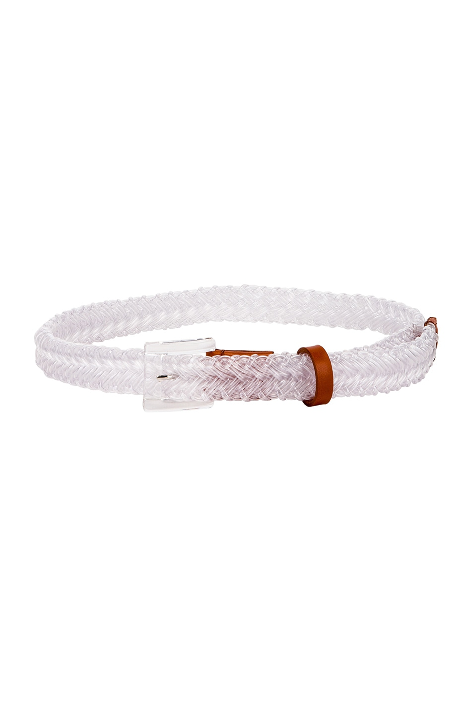 Image 2 of Y/Project Transparent Braided Belt in Transparent
