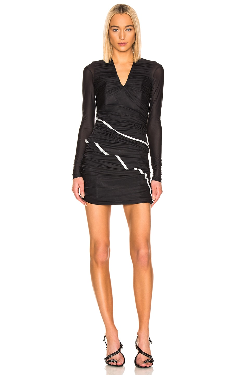 Image 1 of Y/Project Condom Dress in Black
